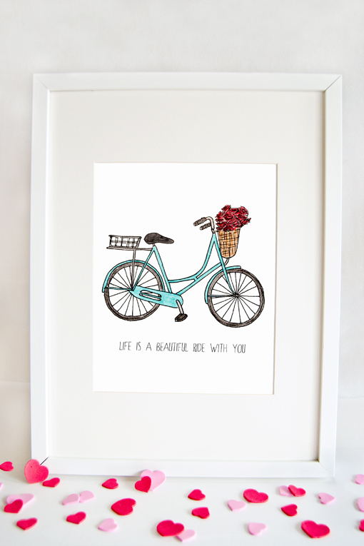 Life Is A Beautiful Ride Print
