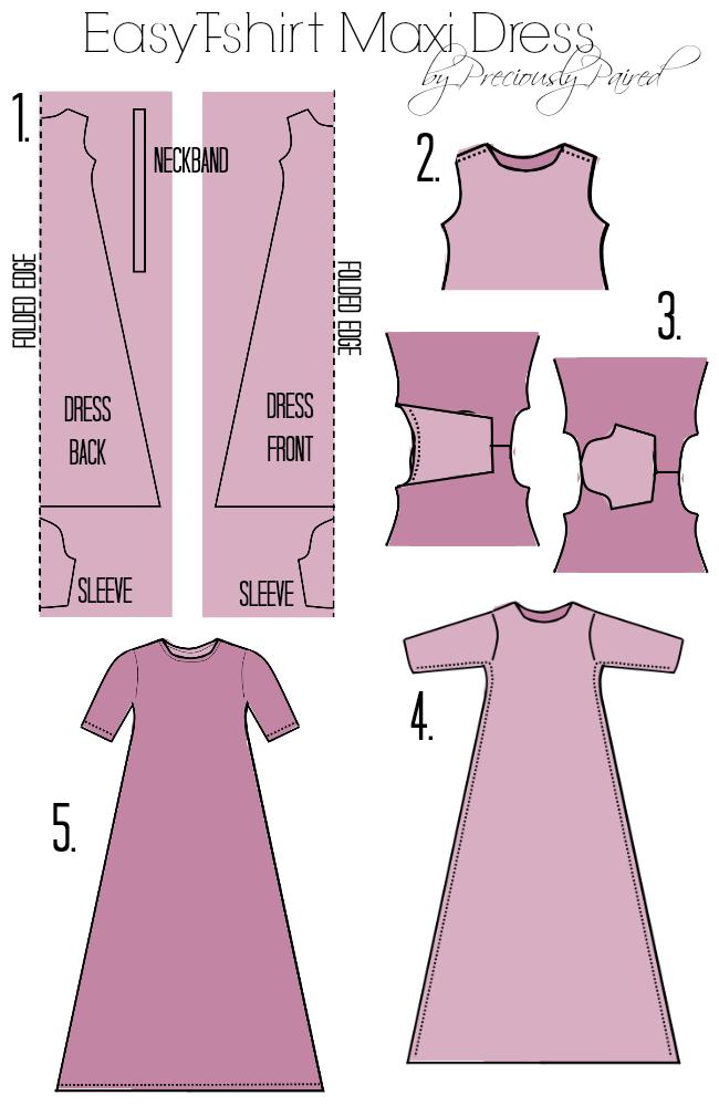 Easy Tshirt Maxi Dress