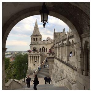 Bastião dos Pescadores em Budapeste