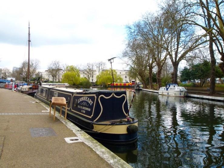 Little Venice para Camden Lock