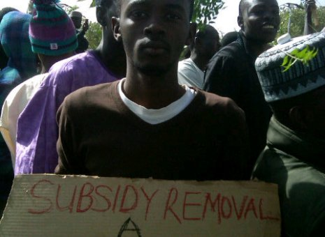 Faces of subsidy protests across the country