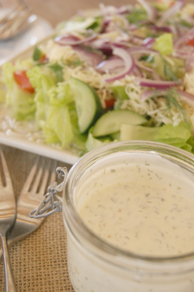 how to make herb ranch dressing
