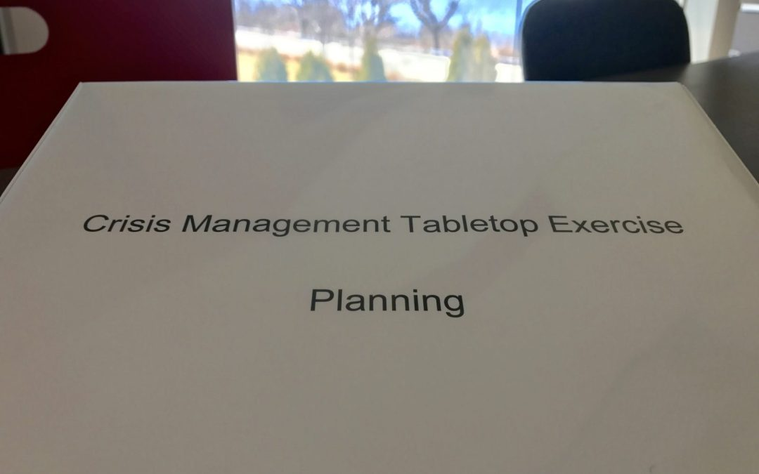 Crisis Management Tabletop Exercises – A Guide to Success