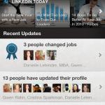 LinkedIn App Update Feed