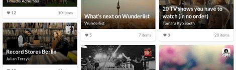 An interview prep checklist on Wunderlist