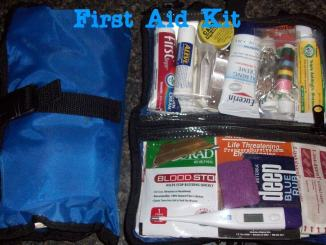 backpacking first aid kit list / hiking first aid kit list / camping first aid kit list / bug out bag first aid list