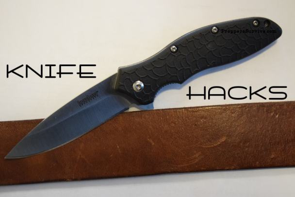 knife sharpening hacks