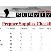Simplicity image pertaining to printable prepper list