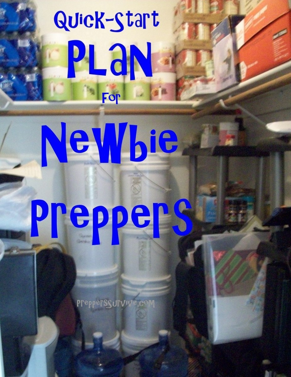 Prepping for Beginners - plan, checklist, tips