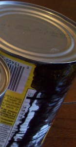 Canned Food Gone Bad - Leakage