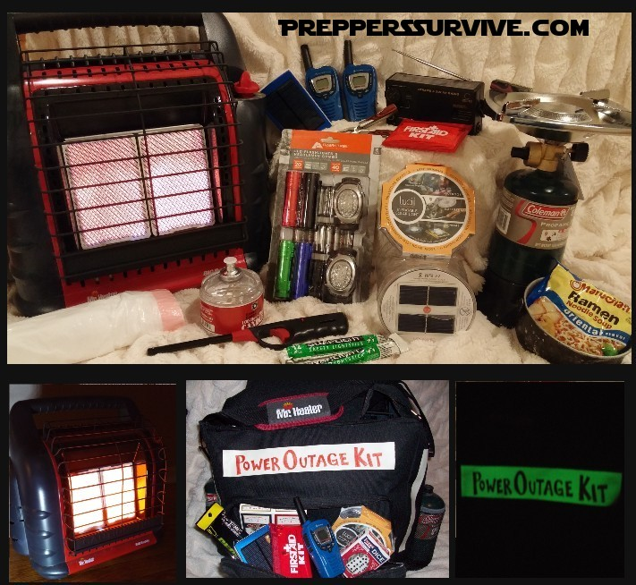 Power Outage Kit Preppers Survive