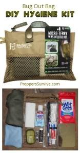DIY Hygiene Kit - Prepper Hygiene - Pinterest