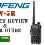Handheld BAOFENG UV-5R HAM Radio