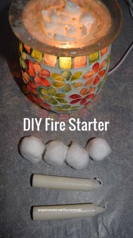 Quickest Way to Start a Fire - Fire Starter Kit