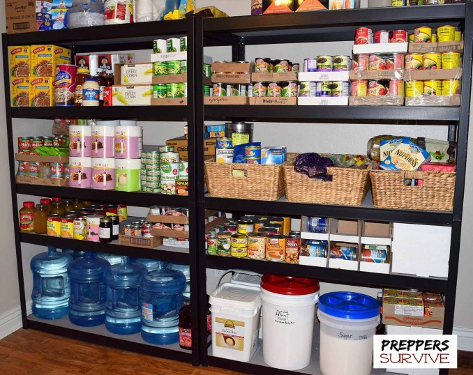 Prepper's pantries - Food Storage Pictures - Images of Canned Food