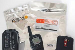 Testing Faraday Bags