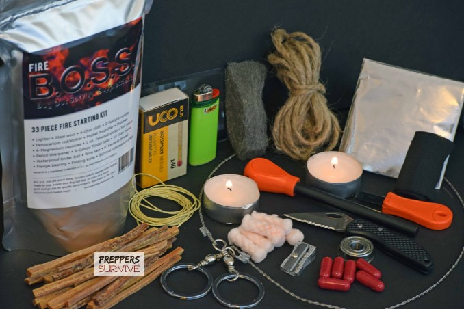 B.O.S.S. Survival Kits - Fire