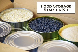 starter kit food storage