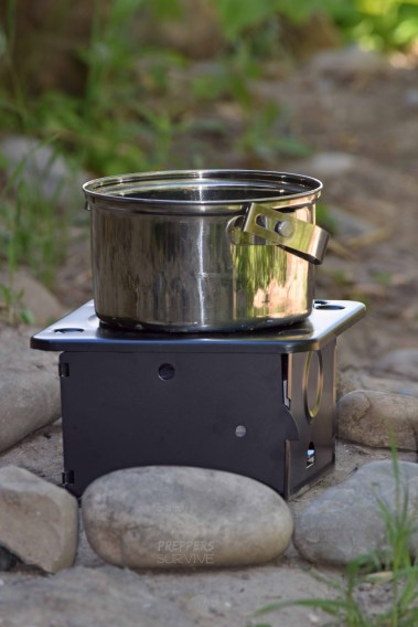 Coghlans Folding Stove - Backpacking Stoves Compared