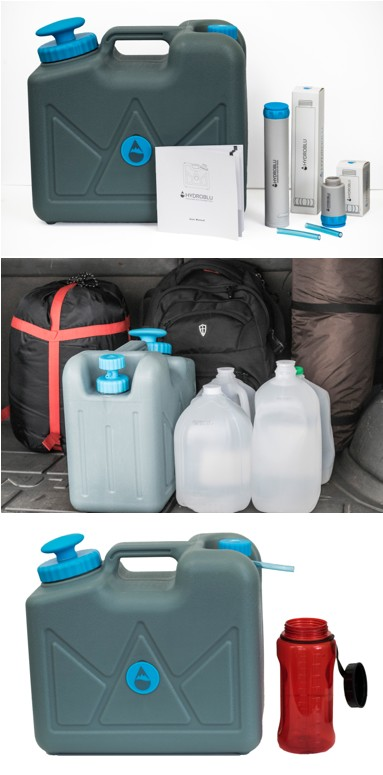 HydroBlue Pressurized Jerry Can Water Filter - Emergency Water Filter - Preppers Survive