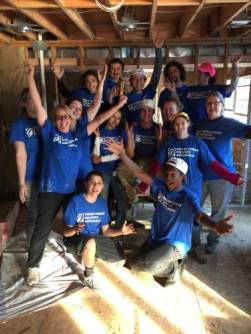 Volunteers from Eventide Community Church joined Presbyterian Disaster Assistance volunteers in 2015 to repair homes damaged by Hurricane Sandy in New Jersey. (Photo by Jeanie Shaw)