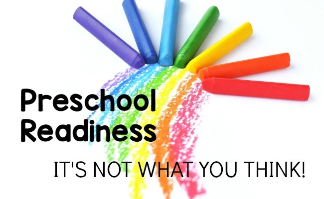 Preschool Readiness — It's Not What You Think!