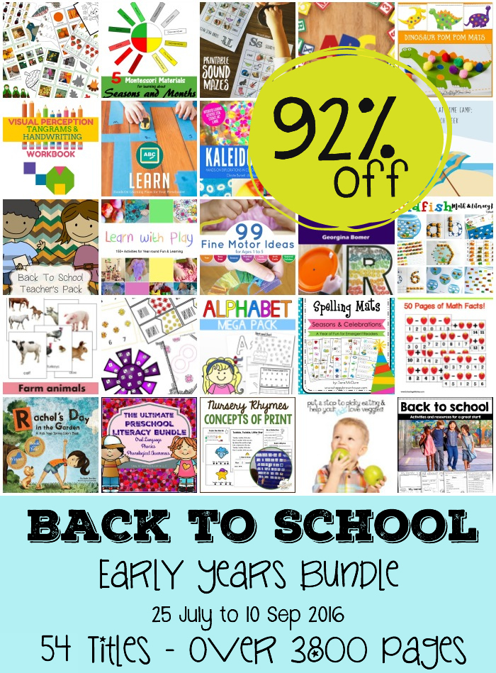 The Ultimate Back to School Early Years Bundle