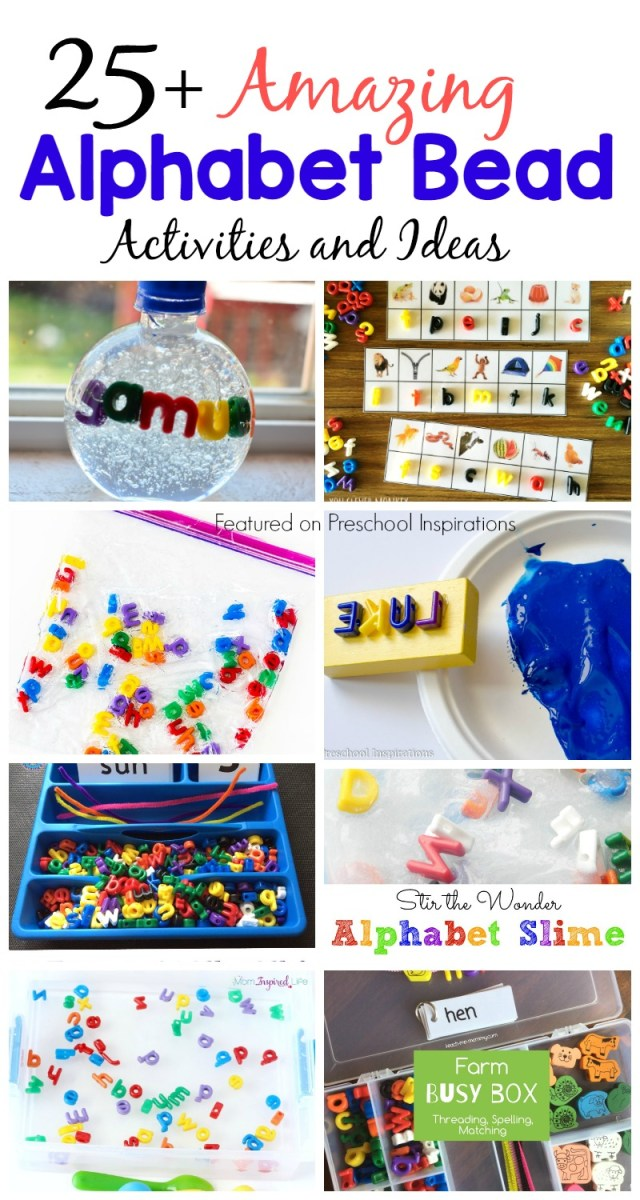 The Best Alphabet Bead Activities and Ideas