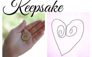 Turn Children's Artwork or Handwriting into Jewelry Keepsake