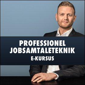 Professionel Jobsamtaleteknik e-kursus