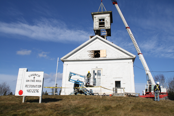 Church on the Hill - photo credit Maine Steeples Project