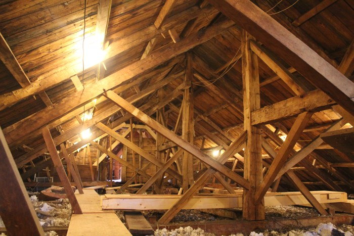 Parallel rafter chord truss