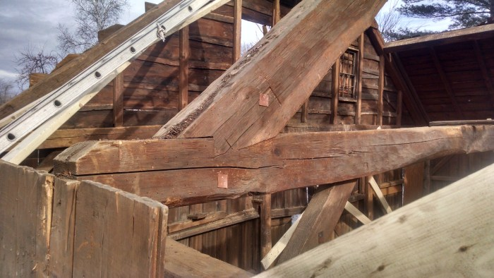 Lord Barn, Rafter-Tie Beam joint