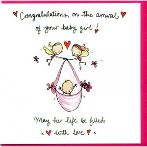 Pleasing Your Baby Card Congratulations On Arrival Congratulations On Arrival Your Baby May Her Life Be Congratulations On Your Baby Girl Italian Congratulations On Your Baby Girl S