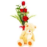 bouquet bear