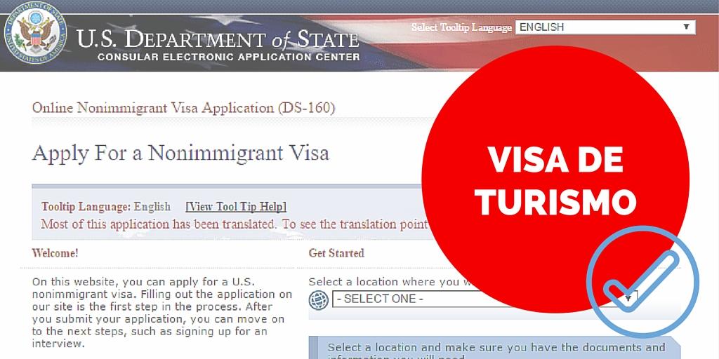 Cómo sacar la visa de turista para Estados Unidos