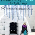 Fashionably frozen at NY Fall Fashion Week