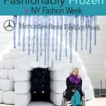 Fashionably frozen at NY Fall Fashion Week