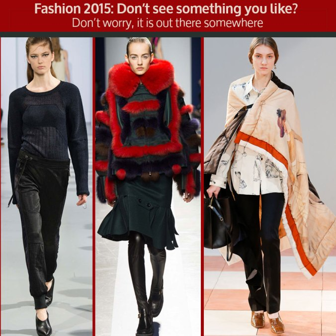 Looks from Paris Fashion Week 2015 RTW March