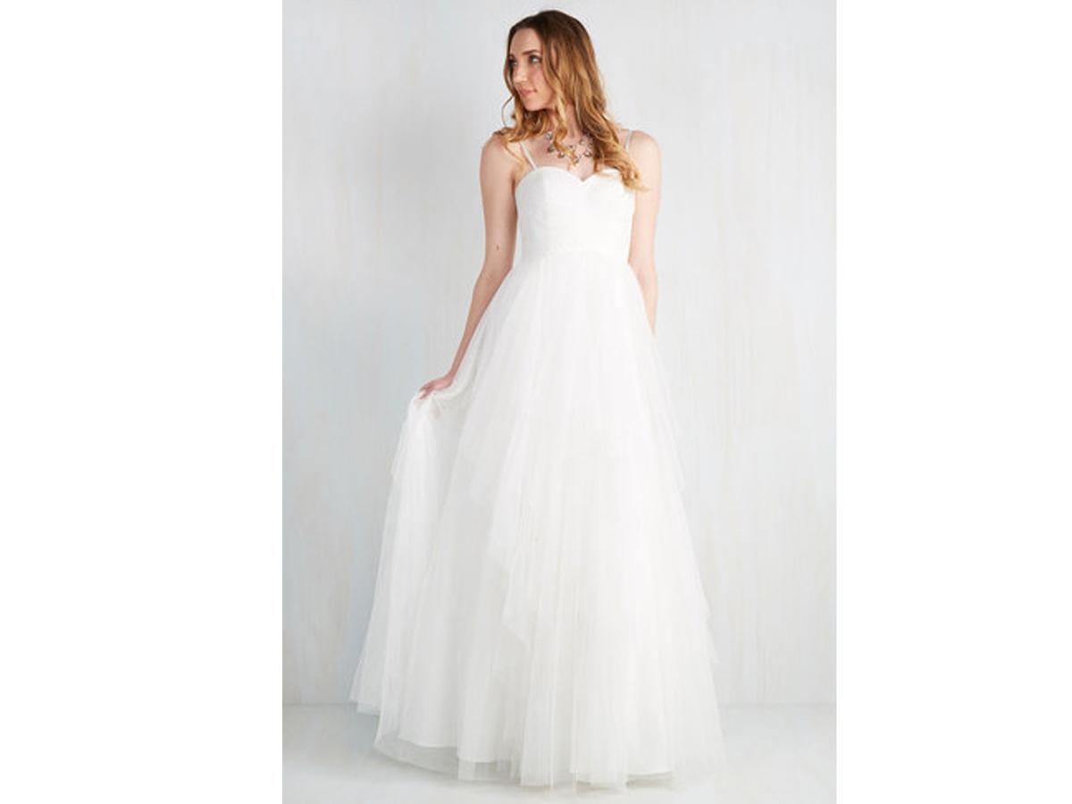 12 romantic wedding dresses for women modcloth wedding dresses Modcloth Ballroom Royalty Dress