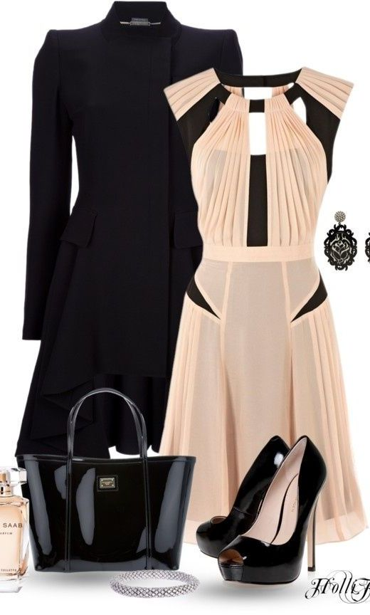 Glamorous Polyvore Outfit
