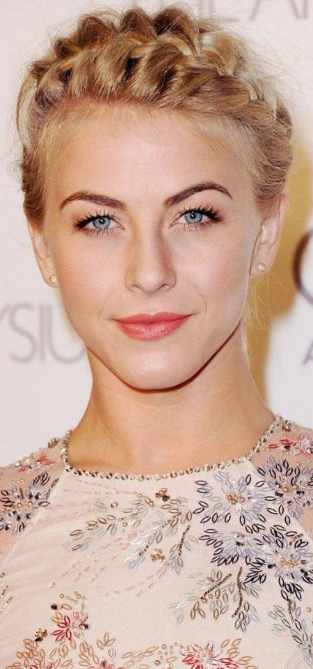 Julianne Hough Crown Braid