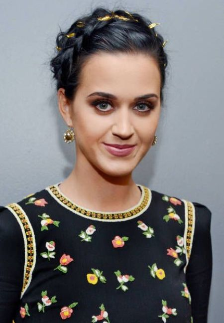 Katy Perry Crown Braid via