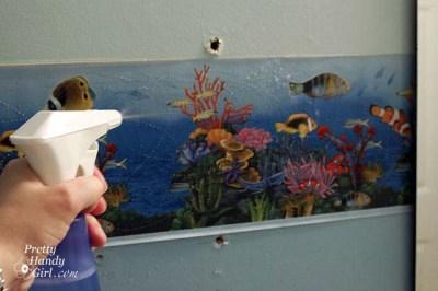 Removing Wallpaper Borders - Pretty Handy Girl