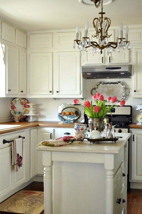 Medium Of Country Cottage Kitchen Cabinets