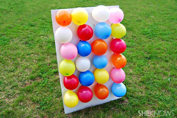 Balloon Darts, 25 Best Backyard Birthday Bash Games