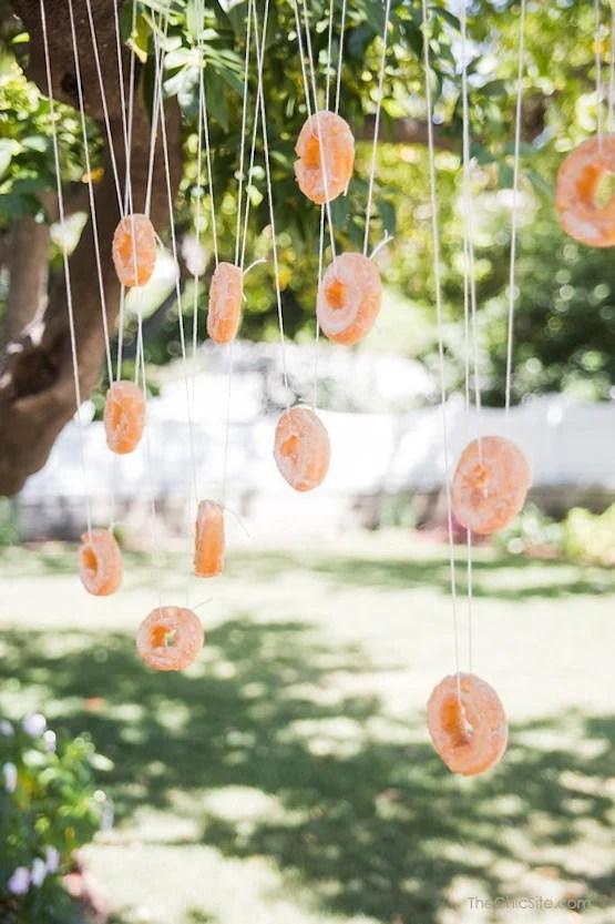 Bobbing for Donuts, 25 Best Backyard Birthday Bash Games
