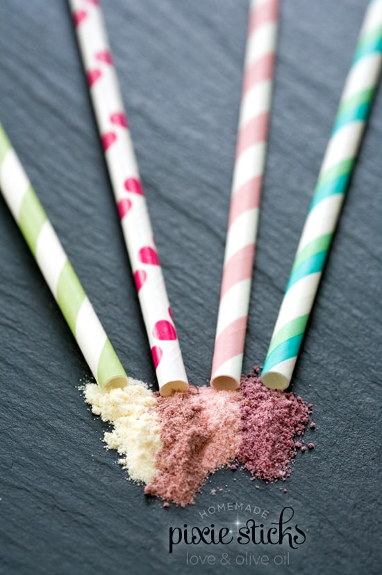 Homemade Pixie Stix Favors | Budget Birthday Favors via Pretty My Party
