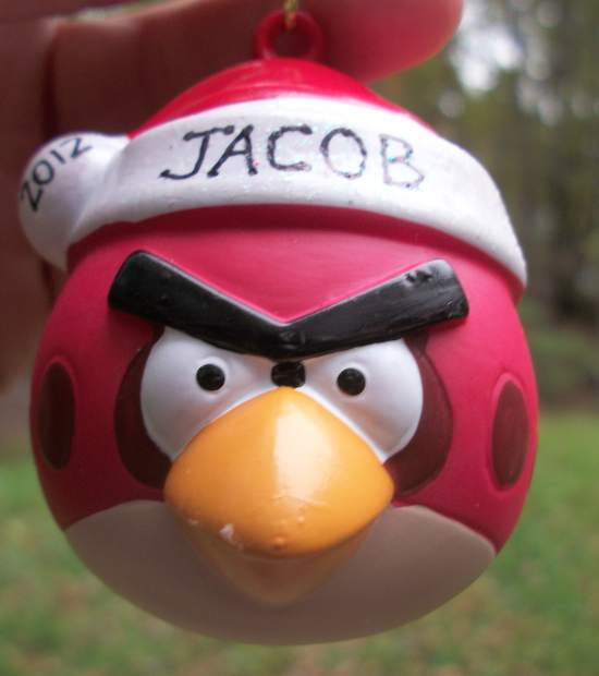 Angry Bird Ornament
