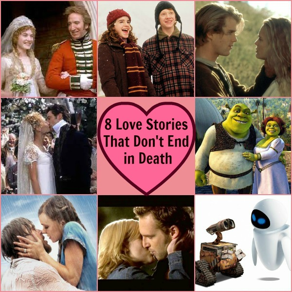 8 Love Stories That Don't End in Death